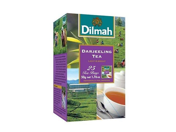 Čaj černý Darjeeling 25sáčků DILMAH