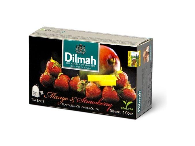Čaj černý mango + jahoda 20sáčků DILMAH