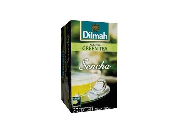 Čaj zelený Sencha 20 sáčků DILMAH