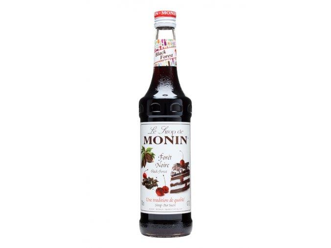 Monin Black forest ( třešeň a kakao ) 0,7l