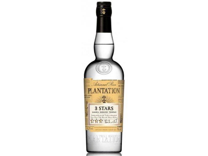 Rum Plantation White 3 stars  0,7 l   41,2%