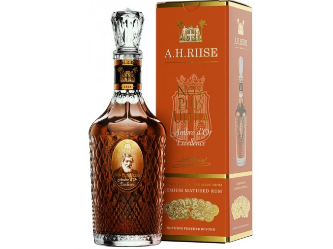 Screenshot 2020 10 01 A H Riise NON PLUS ULTRA Ambre d´Or Excellence, 42%, 0,7l Winehouse cz