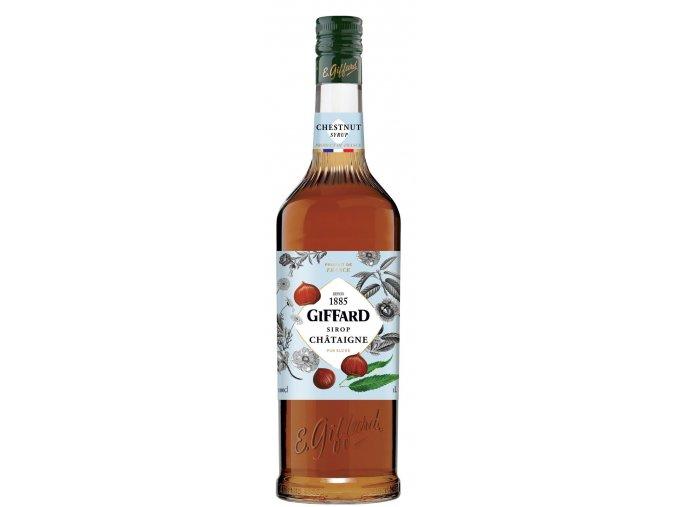 Giffard Chestnut - Kaštanový sirup 1l