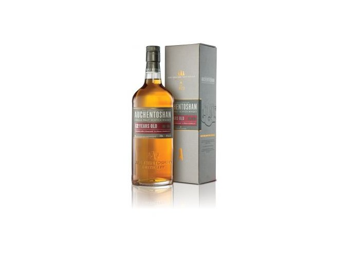 Auchentoshan 12 Year Old Single Malt Scotch Whisky 0,7l v boxu