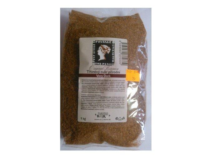Cukr třtinový tmavý Demerara 4 Kg
