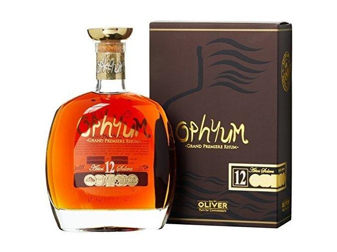 Rum Ophyum 12YO 40% 0,7 l