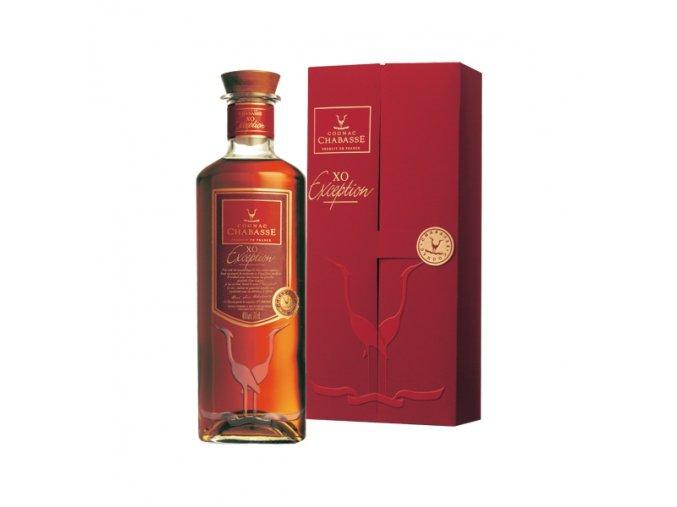 Cognac Chabasse XO Exception limitovaná edice 40% 0,7 l in GiftBox