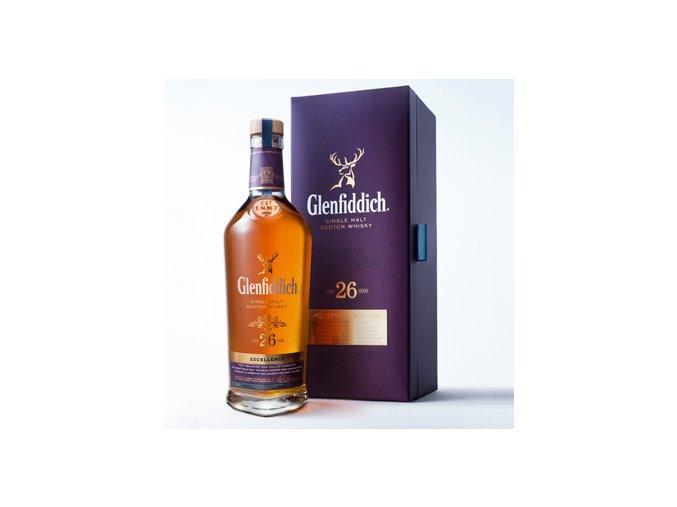 Glenfiddich 26 let Malt 43% 0,7 l