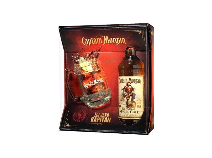 Captain Morgan Spiced 0,7 l s korbelem