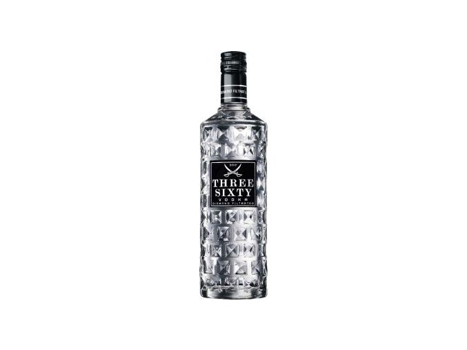 Vodka Three Sixty 37,5 % 1 l