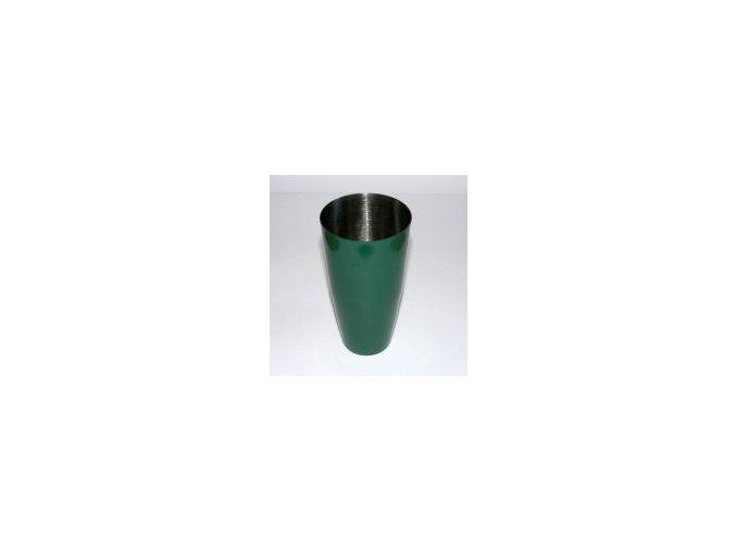 Koktejlový shaker pro barmany nerez zelený 0,7 l