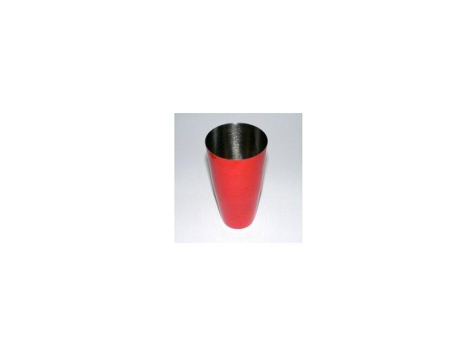 Koktejlový shaker pro barmany nerez oranžový 0,7 l