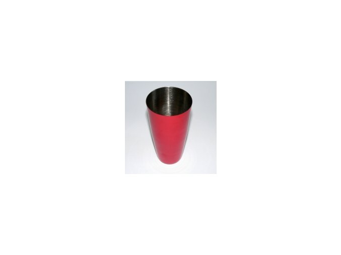 Koktejlový shaker pro barmany nerez červený 0,7 l