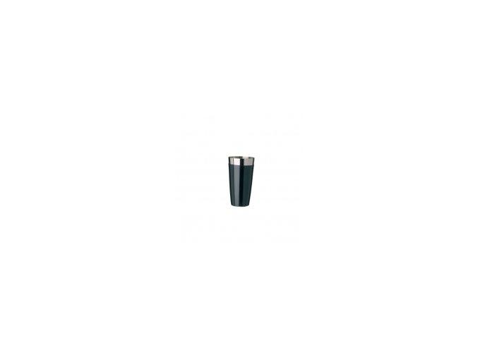 Koktejlový shaker pro barmany vinyl černý 0,7 l