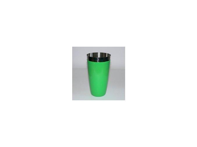Koktejlový shaker pro barmany vinyl světle zelený 0,7 l