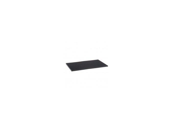 Barová podložka černá 30x45 cm