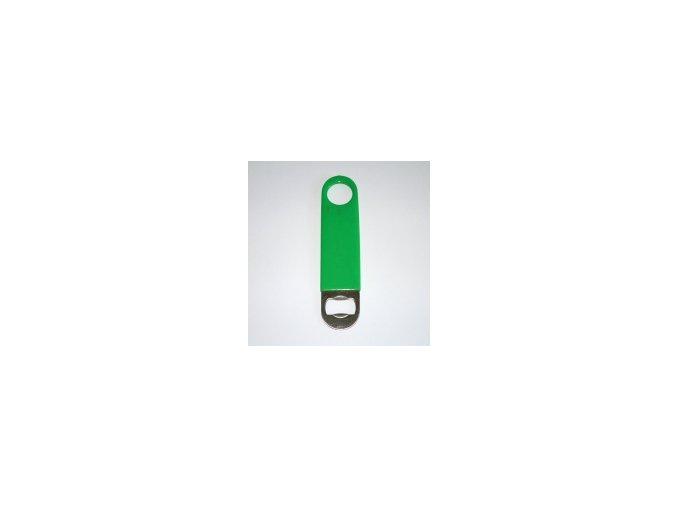 Otvírák láhví pro barmany vinyl zelený