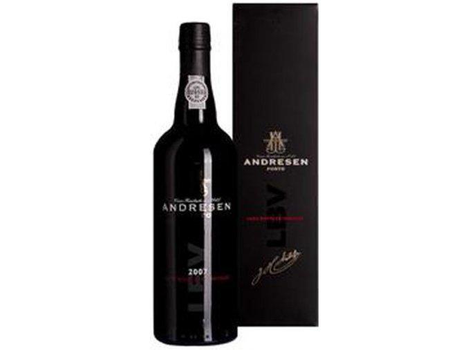 Portské víno J.H. Andresen LBV 2008 0,7 l