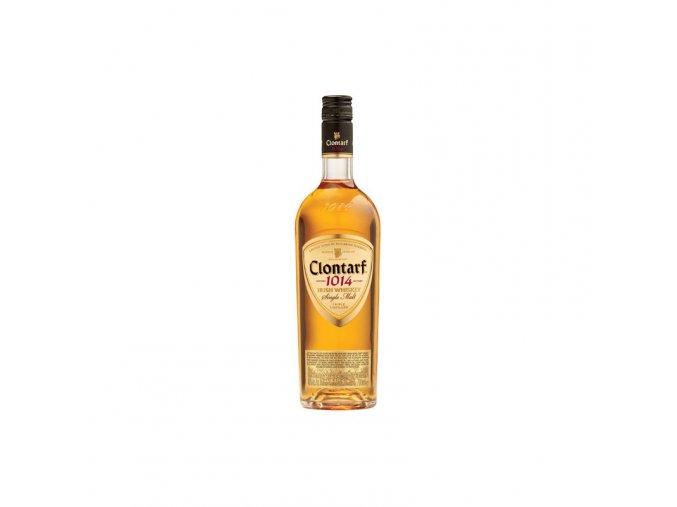 clontarf 1014 single malt irish whiskey 07l