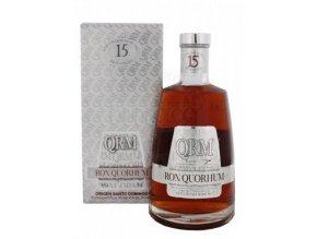 Rum Quorhum 15 YO 40% 0,7 l