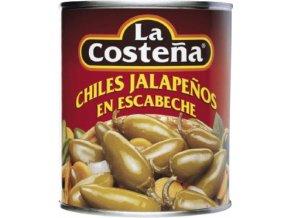 Papričky Jalapeno celé v nálevu 2,8 Kg La costena