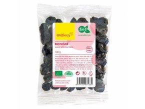 Wolfberry BIO Višně v hořké čokoládě 100g