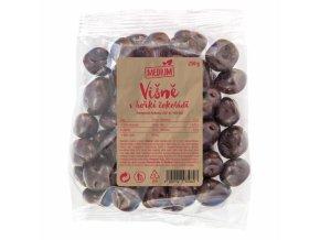 Višně v hořké čokoládě medium 250g Wolfberry