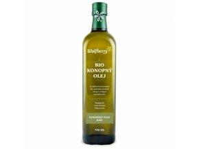 Konopný olej Wolfberry BIO 750 ml
