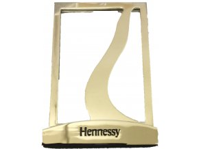 Kovový stojánek na stůl Hennessy stříbrný