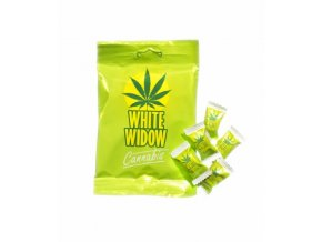 Bonbóny z konopí - Cannabis White Widow drops 30g