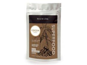 BIO Kakaové boby RAW drcené Health Link 250g