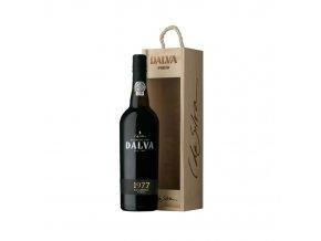 Portské víno Dalva Colheita 1977 0,75 l dřevěný box