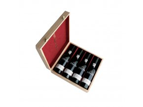 Portské víno Dalva 100 Years of Porto 4x0,375l dřevěný box