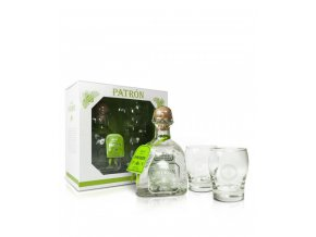1638 Patro n Silver 2Gl Pack 100 Agave Tequila 600x711