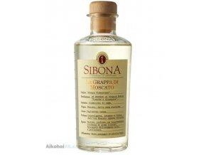 Grappa Sibona Moscato 42% 0,5 l