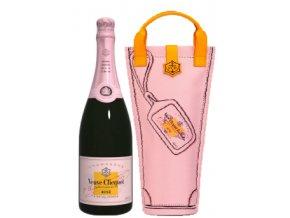 Veuve Clicquot Rosé 0,75 l Shopping bag