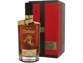 Malteco 1987 0,7l 40% v dřevěném boxu