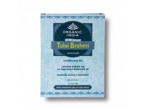 BIO Čaj Tulsi Brahmi  - bazalka posvátná sypaný 50g Organic India