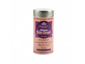 BIO Čaj Tulsi Ginger  - bazalka a zázvor sypaný 100g Organic India