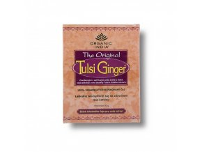 BIO Čaj Tulsi Ginger  - bazalka a zázvor sypaný 50g Organic India