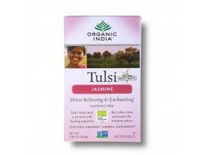 BIO Čaj Tulsi Jasmín - jasmín a heřmánek sáčkový 18ks Organic India