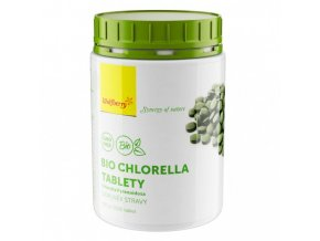 BIO Tablety Chlorella 2500 tablet Wolfberry