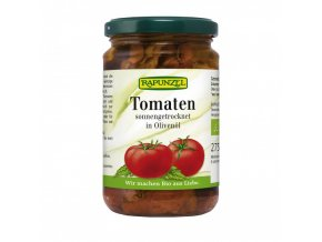BIO Sušená rajčata v extra panenském olivovém oleji 275g Rapunzel