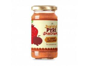 jablecne pyre s jahodami koldokol bio 210 g