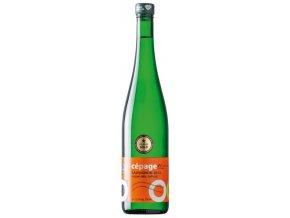 Nové Vinařství Drnholec Sauvignon Blanc pozdní sběr Cepage 2017 0,75l