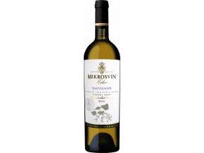 Mikrosvín Mikulov Sauvignon Blanc pozdní sběr Flower Line 2016 0,75l