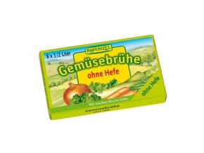 zeleninovy vyvar bez drozdi v kostce rapunzel bio 8 ks
