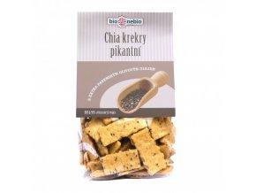 chia krekry s olivovym olejem bionebio bio 130 g