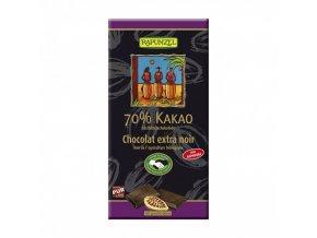 BIO Čokoláda 70% hořká 80g Rapunzel
