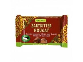 cokolada horka s oriskovou naplni rapunzel bio 100 g